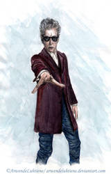 Doctor Who - Twelfth Doctor (colour) by ArwendeLuhtiene