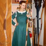 Merida cosplay WIP - Bow III by ArwendeLuhtiene