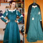 Merida cosplay WIP - Upgraded chemise by ArwendeLuhtiene