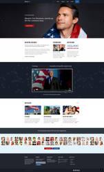 Kause WordPress theme for Politics by make-lemonade-co