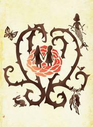 Rule of Rose: alternative logo by Y--project