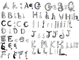 Rule of Rose font - 1/3 by Y--project