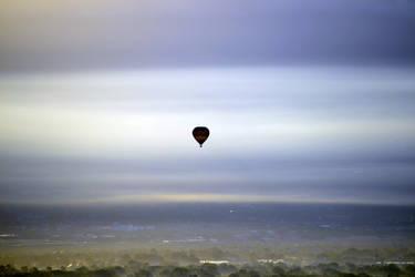 Balloon Fiesta Minimalism by Delta406