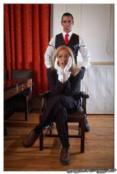 Loyal Butler and Caprician Sir by ButohDanseur