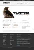 Clearly Modern WordPress by lickmystyle