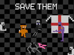 Save Them Poster by Ebkas1