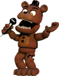 Transparent Adventure Withered Freddy by Ebkas1