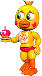 Transparent Adventure Toy Chica by Ebkas1