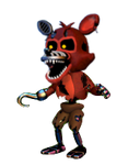 Transparent Adventure Nightmare Foxy by Ebkas1