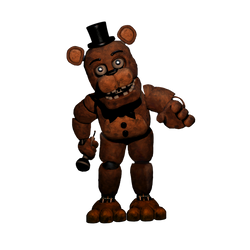 Un-withered Freddy Full Body by Ebkas1