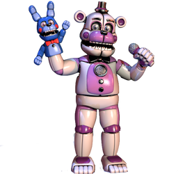 Funtime Freddy Transparent Background by Ebkas1