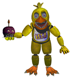 Un-withered Chica Full Body by Ebkas1