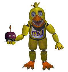 Un-withered Chica Full Body but better by Ebkas1