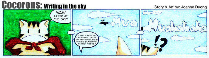 Cocorons: Writing in the Sky by Cocorons