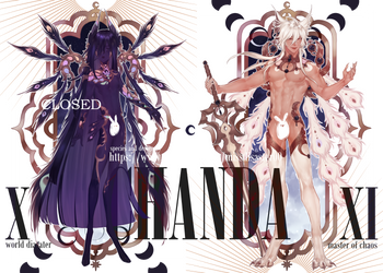 [closed] Chanda 10 n 11 new year auction by missdisaster00