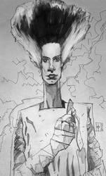 Bride of Frankenstein by tomasoverbai