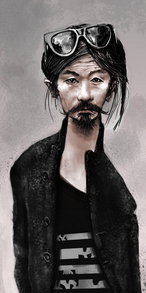 Digital portrait june 27 by tomasoverbai
