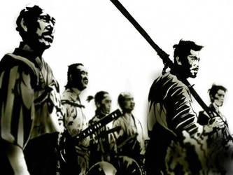 seven samurai by tomasoverbai