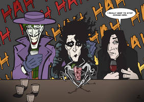 Three Men Walk into a Bar by BlitheFool