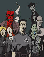 BPRD by BlitheFool
