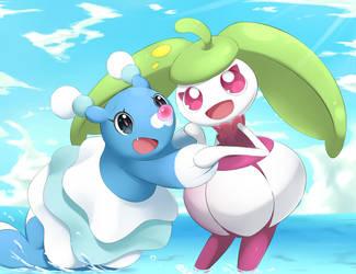 Brionne and Steenee by YomiTrooper