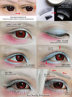 Cosplay eyes make up tutorial by mollyeberwein