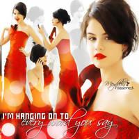 Selena Gomez Blend 1 by MeyddelisPassioned