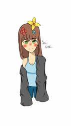 tired girl by MelancholyKillJoyDuo