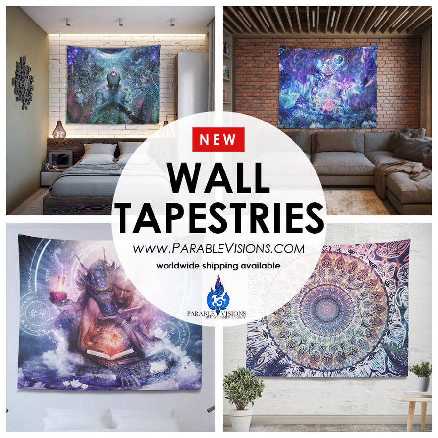 Wall-Tapestry-banner by parablev