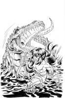 Elfsong - Dusk and Crocodile by ElfSong-Mat