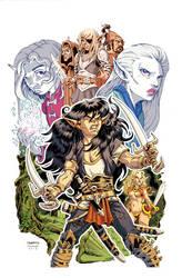 Elflord Kickstarter Variant Cover by ElfSong-Mat