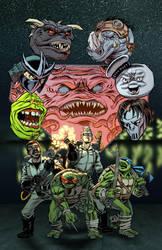 Ghostbusters - Teenage Mutant Ninja Turtles crosso by ElfSong-Mat