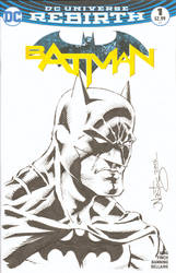 Batman Sketchcover Commission by ElfSong-Mat