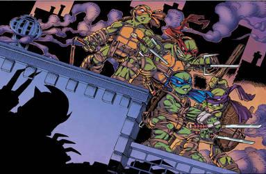 Teenage Mutant Ninja Turtles UK Poster by ElfSong-Mat
