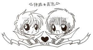 Twins by subaru87