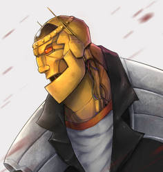 Doom Patrol - Robotman by DiosRevoredo