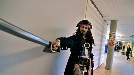 Captain Jack Sparrow - Trasure hunting at DeDeCo by DieselsVideo