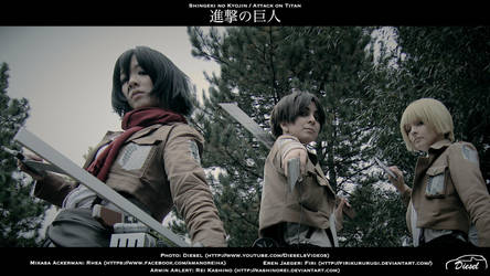 Shingeki no Kyojin - ready to fight by DieselsVideo