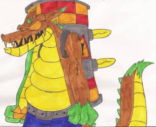 Dingodile Concept by DoofenEmpire