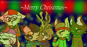 Merry Christmas 2018 (Best Friends) by PONYGABY123