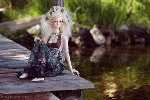 Golden Lake by Sarqq