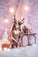 Ophelia's Gingerbread house by Sarqq