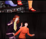 Daphne and Velma by Songbird-cosplay