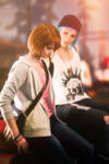Life is Strange. Chloe and Max by Songbird-cosplay