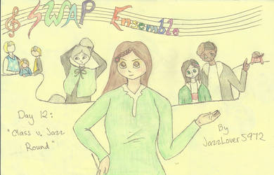 SWAP Ensemble Day 12-'Class v. Jazz Round' Title by JazzLover5972