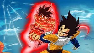 Goku X Vegeta by PhantomStudio-Tommy