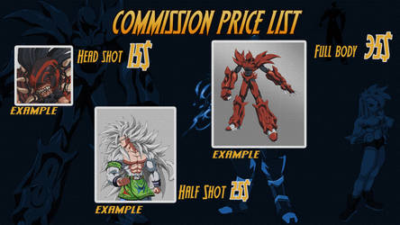 Comissions Price List! by PhantomStudio-Tommy