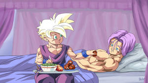 :Commission Taking care of Trunks by PhantomStudio-Tommy