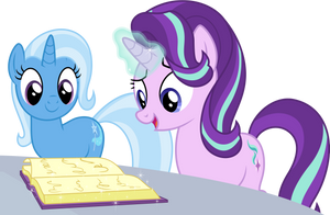 [Vector] Starlight and Trixie by DerAtrox