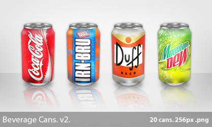 Beverage cans - New by galaxygui